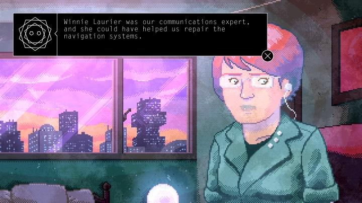 Winnie Laurier era nuestra experta en comunicación, y ella podría habernos ayudado a reparar los sistemas de navegación.