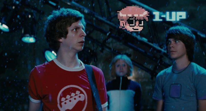 Scott Pilgrim. 1up